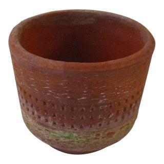 Mid-Century Italian Ceramic Pot