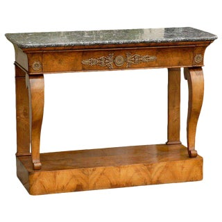 French Burl Console