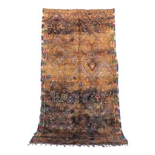 "Vintage Zayane Moroccan Rug, 6'10"" x 12'2"" feet"