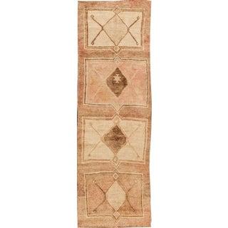 "Apadana - Vintage Turkish Anatolian Rug, 3'2"" x 10'3"""