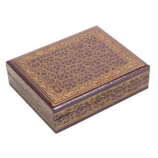 Lilac Kashmiri Jewelry Box