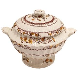 "Vintage Spode England ""Buttercup"" Large Lidded Soup Tureen"