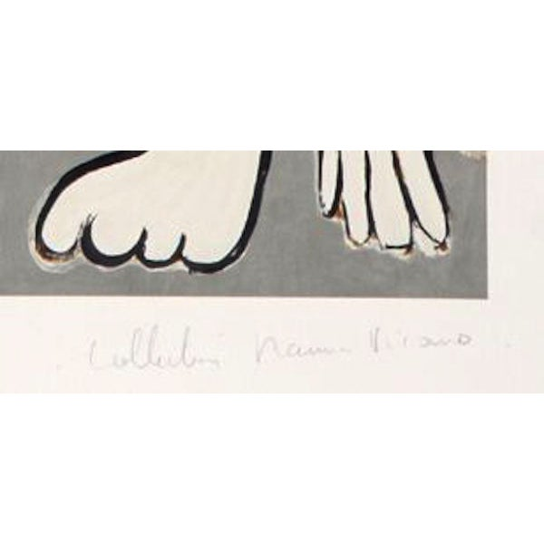 """Pablo Picasso, """"Femme Acrobate,"""" Lithograph - Image 2 of 2"""