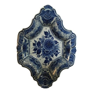 Delft Diamond Shaped Bowl