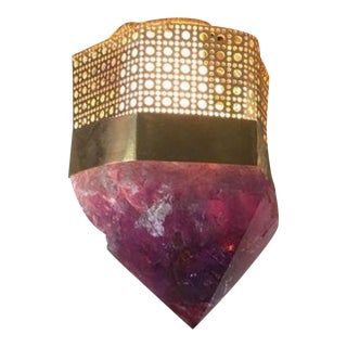 Customizable Semi-Precious Light Fixture