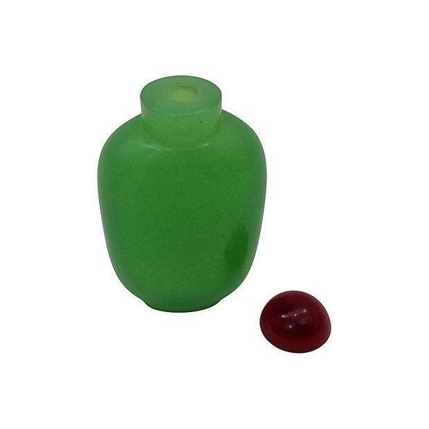 Image of Cloisonné Snuff Bottle & Barrel Box, Set of 2