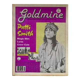 Vintage 'Gold Mine: Patti Smith' 1988 Collectible Magazine
