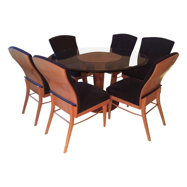 Roche bobois vintage dining chairs set of 6 chairish - Roche bobois chaises ...