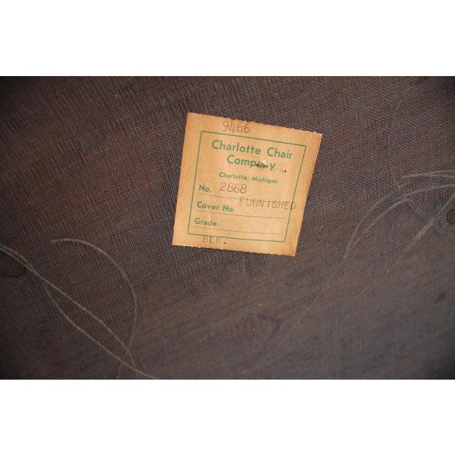Charlotte Michigan Company Black & Brass Bench - Image 7 of 10