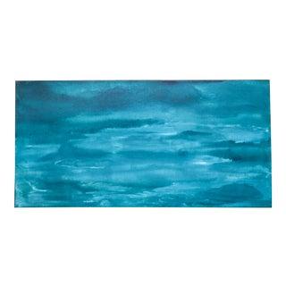 'Blue Dreams' Acrylic Painting