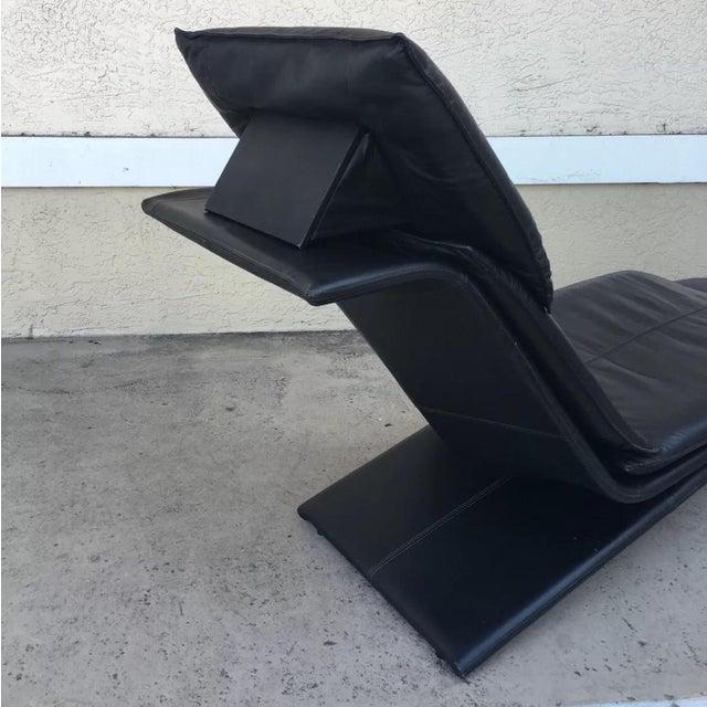 MCM Italian Leather Lounge by Magistretti Casinna - Image 10 of 12