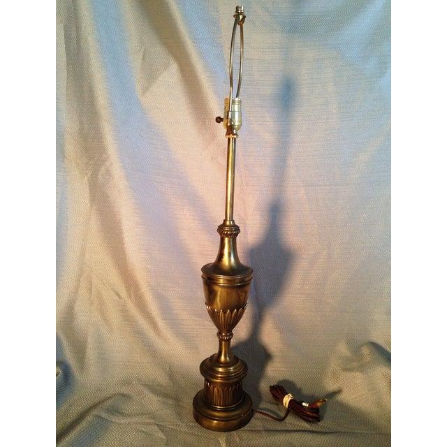 Vintage Stiffel Solid Brass Lamp - Image 3 of 7