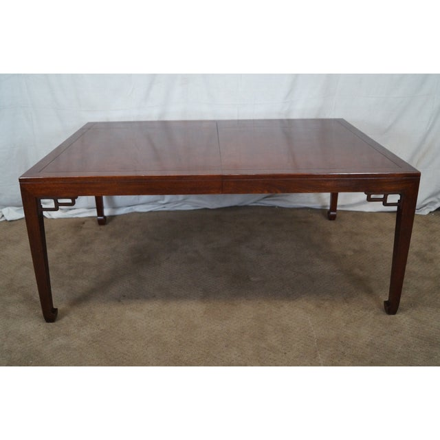 Baker Far East Collection Mahogany Dining Table - Image 2 of 10