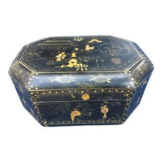 Chinese Chinoiserie Hand Painted Box