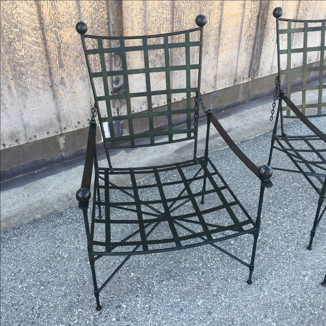 Mario Papperzini Salterini Lounge Chairs - Pair - Image 3 of 8