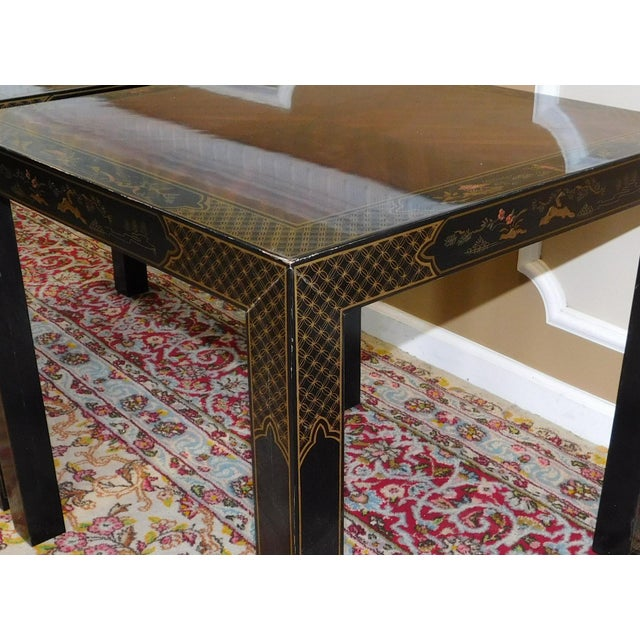 Pair Drexel Heritage Et Cetera Collection Chinoiserie
