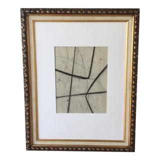 Kimberly Moore Abstract Charcoal Drawing