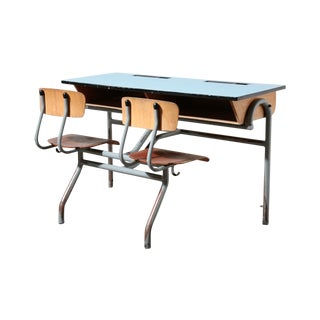 Double Dutch Desk and Chair Console Set