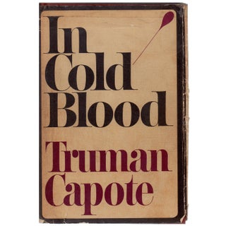 Truman Capote: In Cold Blood, 1st Edition