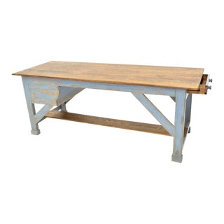 Sarreid Ltd. Scrubbed Top Farm Table