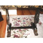 Image of Antique English 1850s Chinoiserie Sewing Chest