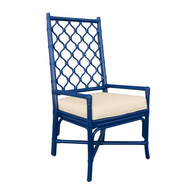 Selamat Designs Blue Ambrose Arm Chair - Image 2 of 2