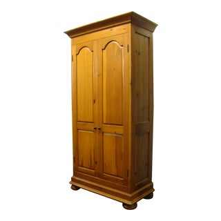 Distressed Pine Armoire
