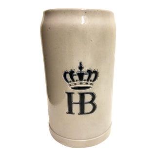 Vintage Ceramic Beer Stain