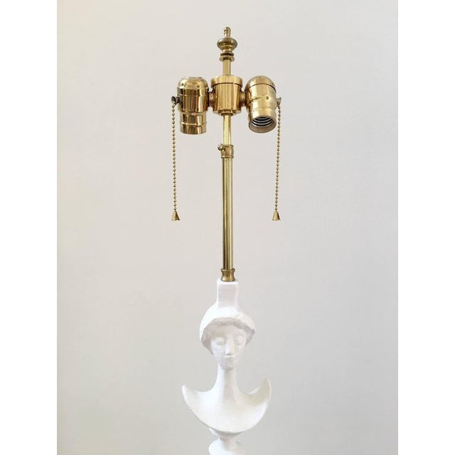 Mid-Century 1940's White Lamp - Image 6 of 8