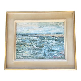 Abstract Pastel Water Painting