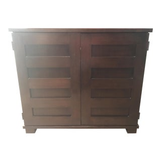 Crate & Barrel Solid Wood Incognito Compact Office