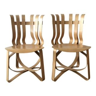 Frank Gehry Hat Trick Chairs - A Pair