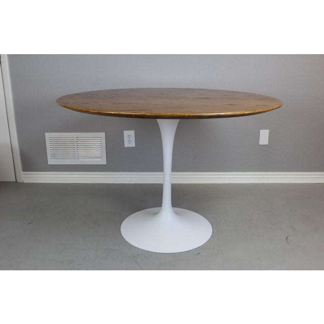 Eero Saarinen for Knoll Dining Table & Chairs -S/5 - Image 3 of 11