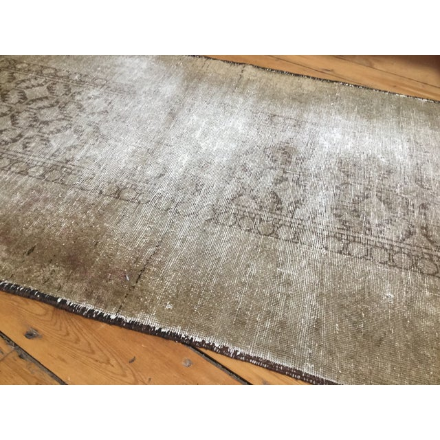 "Distressed Belouch Rug - 3'1"" x 5'6"" - Image 4 of 5"