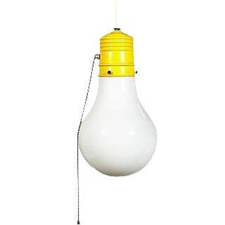 1960s Light Bulb Style Pendant