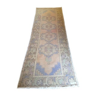 "Vintage Turkish Runner - 3'1"" X 9'7"""