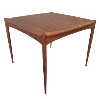 Vintage Danish Mid-Century Modern Teak Flip Top Table by Selig