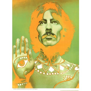 1967 Richard Avedon George Harrison Poster