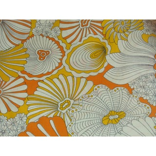 Vintage Colorful Flower Power Fabric - 8 Yards