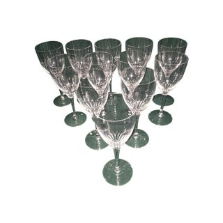 Orrefors Lisbet Wine Goblets - Set of 12