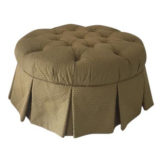 Tufted Ottoman by C.R. Laine