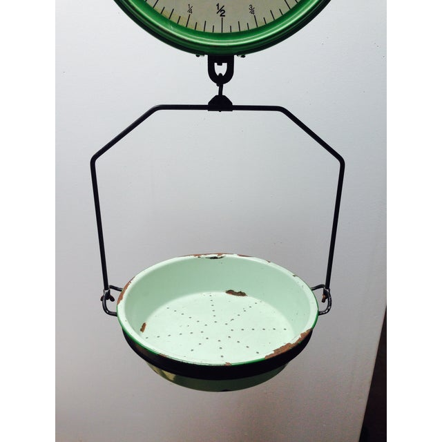 Amazing Vintage Chatillon Green Hanging Scale - Image 5 of 5