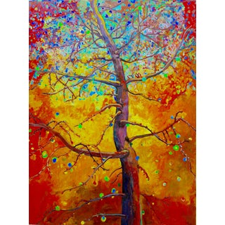 Tree of Life Textured Oil Painting