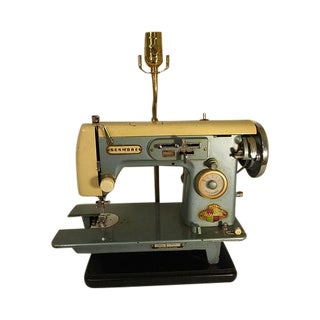 Custom Sewing Machine Lamp