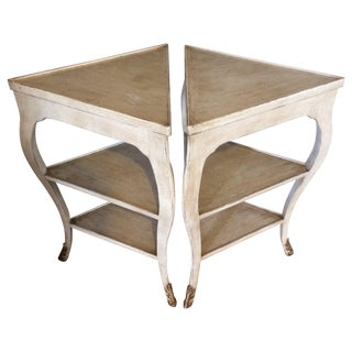 Nancy Corzine End Tables - A Pair