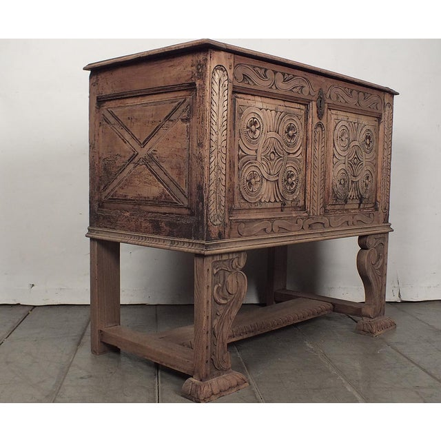 18th Century French Trunk Spanish Baroque-Style - Image 2 of 10