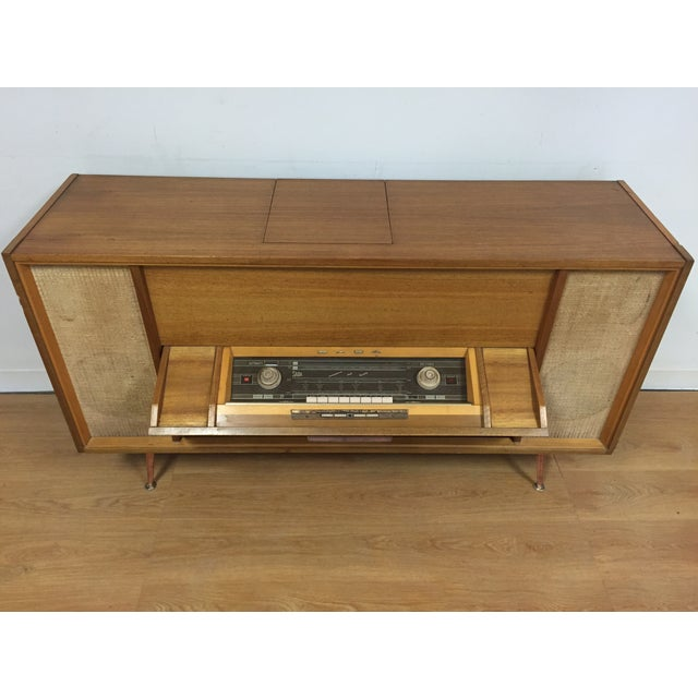 Mid-Century Saba German Radio Console - Image 10 of 11