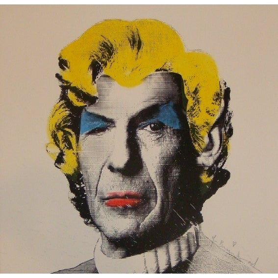 Mr. Brainwash - Spock Monroe Paint Splash - Image 1 of 2
