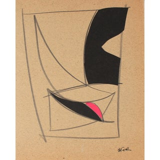 Graphite and Collage II by M. Di Cosola
