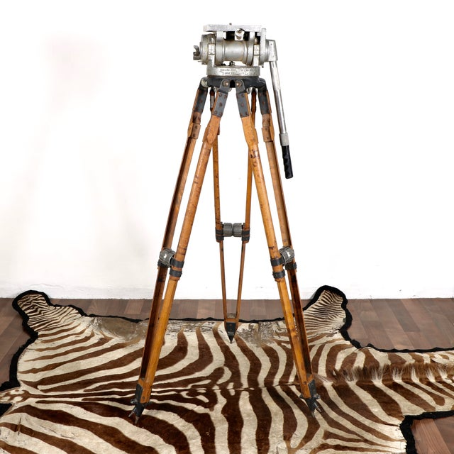 Industrial Motion Picture Tripod - Image 3 of 9